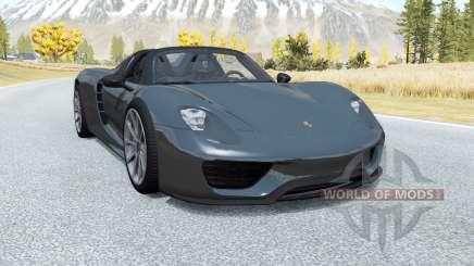 Porsche 918 Spyder 2014 für BeamNG Drive