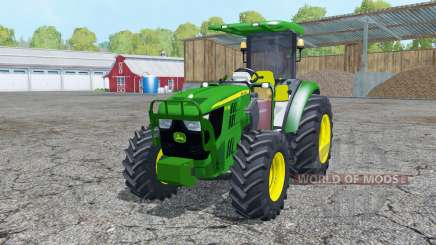 John Deere 5115M loader mounting pour Farming Simulator 2015