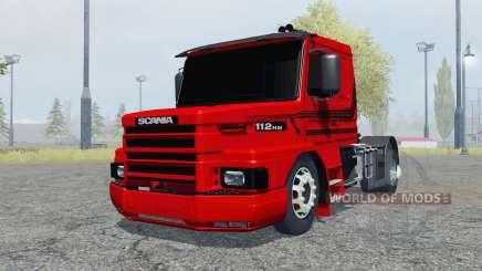 Scania T112HW 4x4 für Farming Simulator 2013