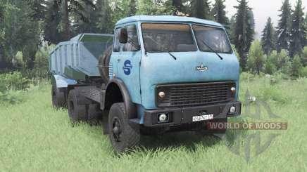 MAZ-504В soft blue für Spin Tires