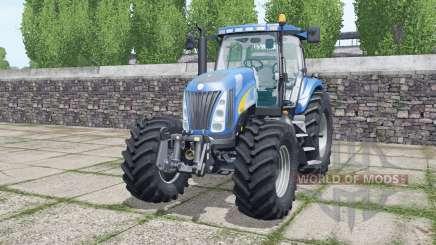 New Holland TG285 Michelin tyres für Farming Simulator 2017