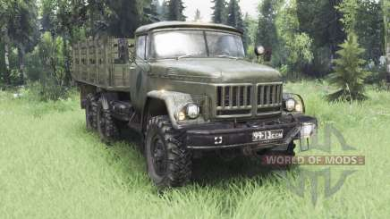 ZIL 131Н pour Spin Tires