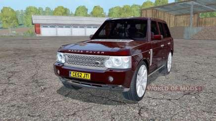Land Rover Range Rover Superchargeɗ (L322) 2005 für Farming Simulator 2015