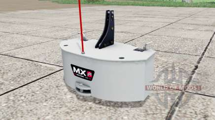 MX Multimass 1200 pour Farming Simulator 2017