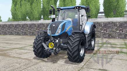 New Holland T6.140 new real sounds pour Farming Simulator 2017