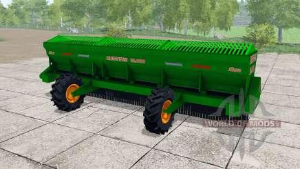 Stara Bruttus 12000 pour Farming Simulator 2017