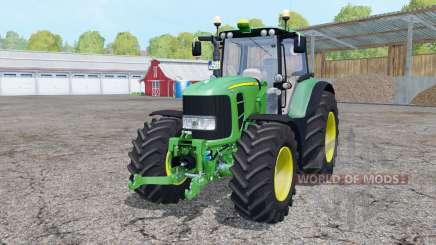 John Deere 7530 Premium double wheels für Farming Simulator 2015