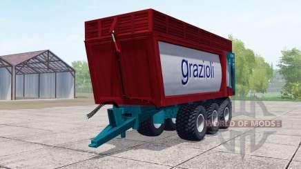 Grazioli Domex 200-6 für Farming Simulator 2017