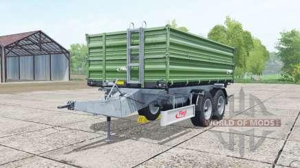 Fliegl TDK 160 dark green für Farming Simulator 2017