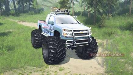 Chevrolet Colorado Extended Cab monster truck für MudRunner