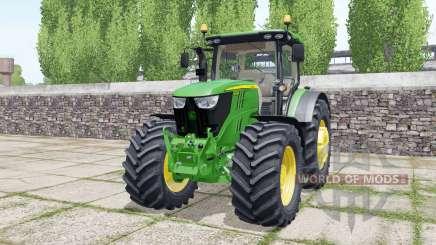 John Deere 6175R design configurations für Farming Simulator 2017