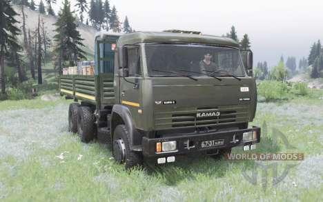 KamAZ 53228 pour Spin Tires