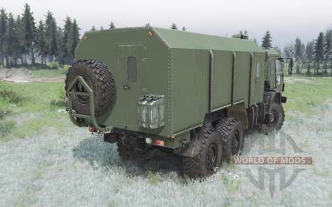 KamAZ 53501 Mustang 2007 pour Spin Tires