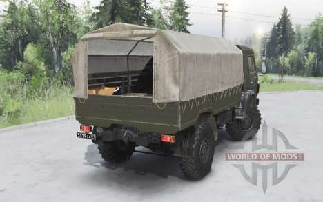 KamAZ-43501 Mustang 2006 pour Spin Tires