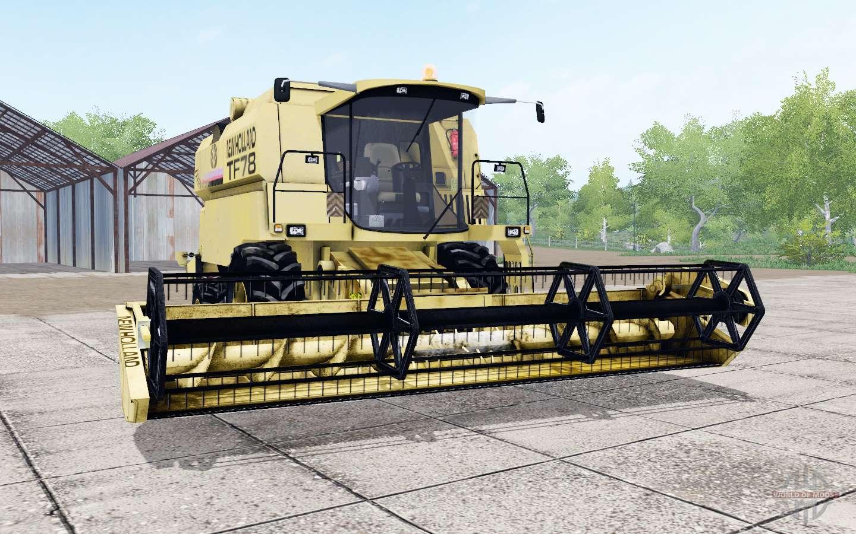 New Holland TF78 Soft Yellow Für Farming Simulator 2017