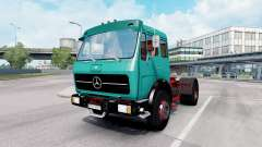 Mercedes-Benz 1632 (Br.387) 1973 tiffany blue pour Euro Truck Simulator 2