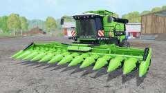 Deutz-Fahr 7545 RTS soft lime green pour Farming Simulator 2015