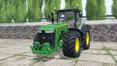 John Deere 8295R green für Farming Simulator 2017