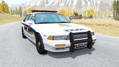 Gavril Grand Marshall Vancouver Police für BeamNG Drive