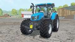 New Holland T6.175 process cyan pour Farming Simulator 2015
