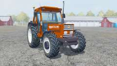 New Holland 110-90 blaze orange pour Farming Simulator 2013
