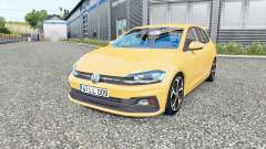 Volkswagen Polo R-Line (Typ AW) 2017 pour Euro Truck Simulator 2