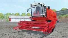 Bizon Z058 light red pour Farming Simulator 2015