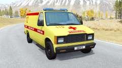 Gavril De La Série H Ambulance pour BeamNG Drive