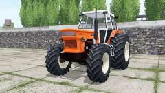 Fiat 1300 DT super vivid orange pour Farming Simulator 2017