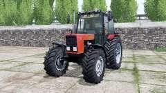 MTZ-82.1 Belarus, leuchtend rote Farbe für Farming Simulator 2017