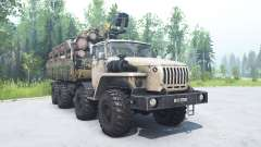 Ural-6614 beige Farbe für MudRunner
