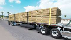 Die Auflieger-Plattform Wilson für American Truck Simulator