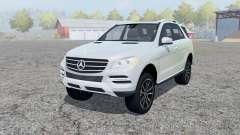 Mercedes-Benz ML 350 (W166) 2011 für Farming Simulator 2013