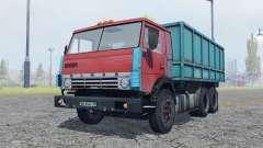 KamAZ 53212 mäßig rot für Farming Simulator 2013
