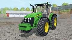 John Deere 7730 added wheels pour Farming Simulator 2015