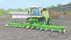 Krone BiG X 1100 lime green für Farming Simulator 2015