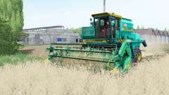 Ne 1500B couleur turquoise pour Farming Simulator 2017