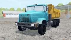 KrAZ-6510 couleur bleu pour Farming Simulator 2015