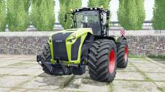 Claas Xerion 5000 Trac VC inch worm pour Farming Simulator 2017
