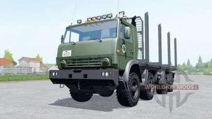 KamAZ-6350 Holz für Farming Simulator 2017