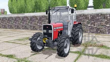 Massey Ferguson 372 bright red pour Farming Simulator 2017