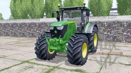 John Deere 6155R front loader für Farming Simulator 2017