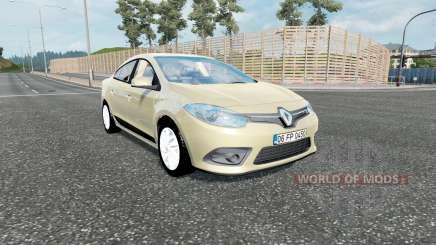 Renault Fluence 2012 für Euro Truck Simulator 2