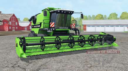 Deutz-Fahr 7545 RTS crawler modules für Farming Simulator 2015