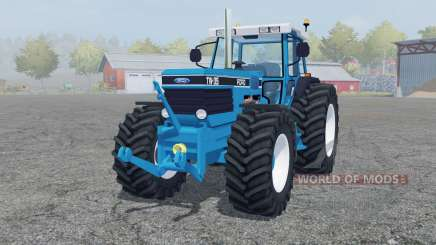 Ford TW-35 strong cyan für Farming Simulator 2013