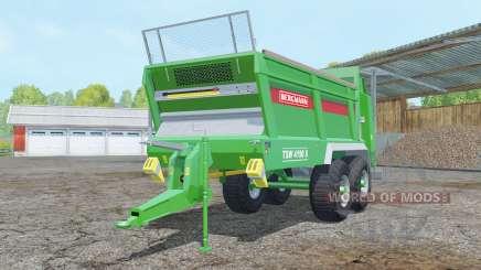 Bergmann TSW 4190 S pantone green für Farming Simulator 2015