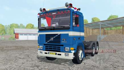 Volvo F12 dark blue pour Farming Simulator 2015