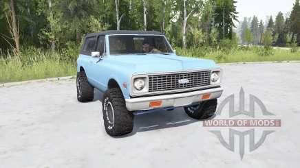 Chevrolet K5 Blazer 1972 für MudRunner