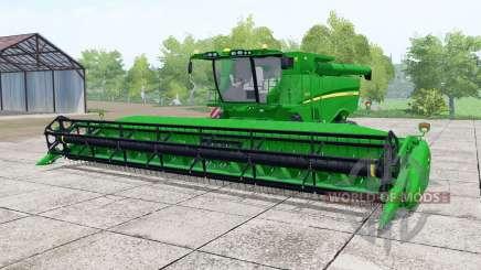 John Deere S670 vivid malachite pour Farming Simulator 2017