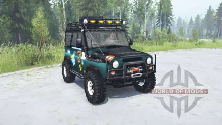 UAZ hunter Trophy pour MudRunner